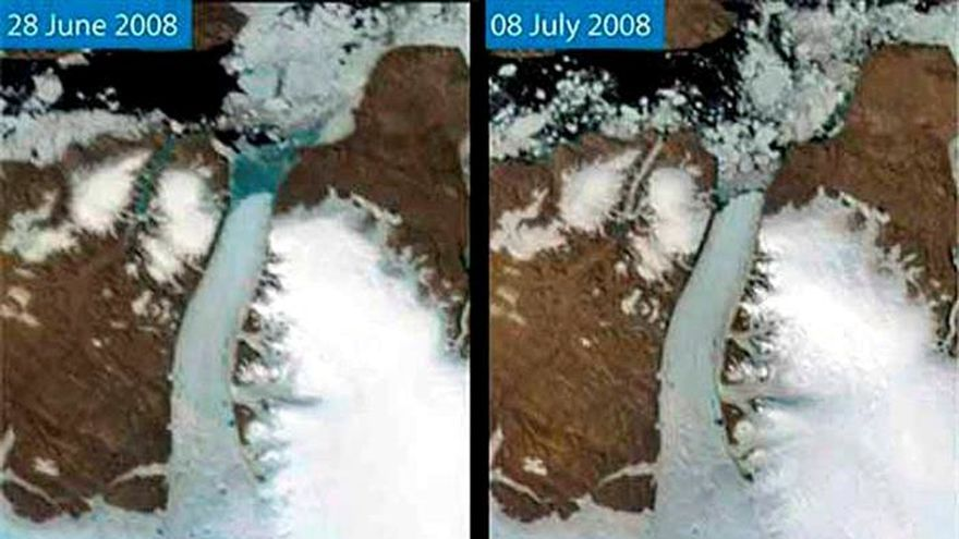 """Larramendi: """"El año 2016 ha sido el más cálido de la historia en Groenlandia"""""""