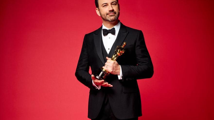 Imagen promocional de los Oscar 2017, con su presentador Jimmy Kimmel