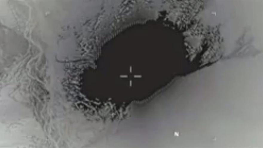 """EI niega bajas en sus filas en el ataque con la """"madre de todas las bombas"""""""