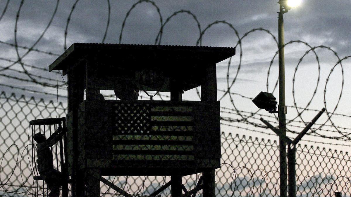 La base militar de Guantánamo, de propiedad estadounidense.
