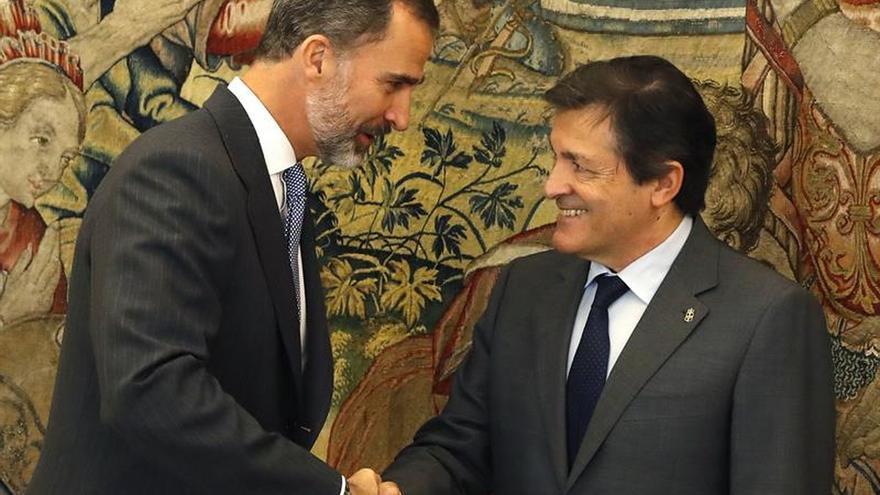 El Rey recibe a Fernández para conocer en detalle la posición actual del PSOE