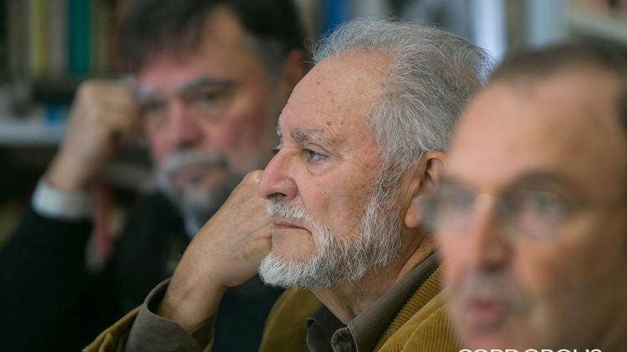 Julio Anguita en un acto del Frente Cívico |MADERO CUBERO