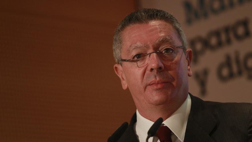 Gallardón señala que el Gobierno está preparado para dar una respuesta judicial a la Ley de Consultas