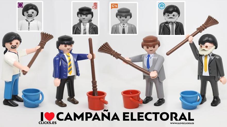 I love campaña electoral