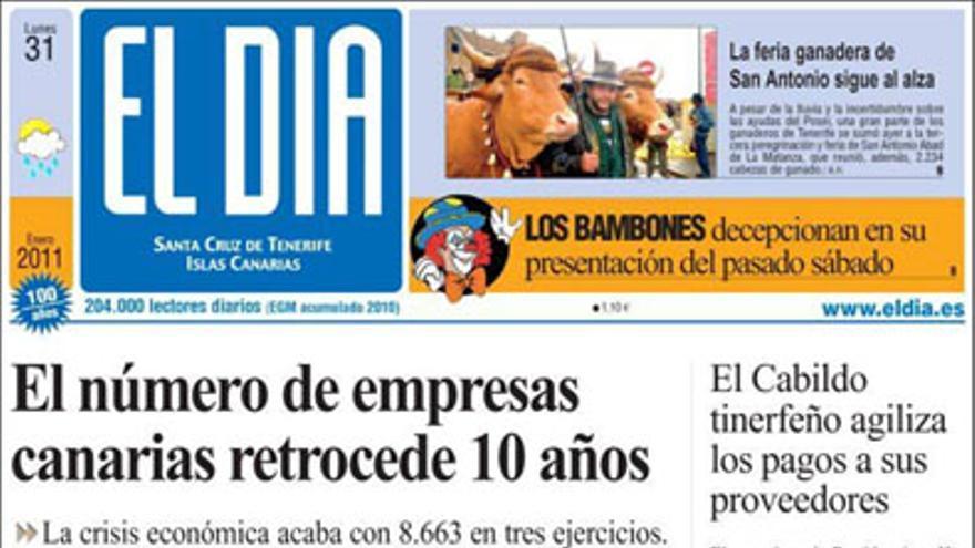 De las portadas del día (31/01/11) #4