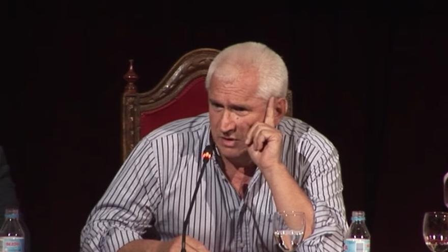 El catedrático de Derecho Penal Javier Álvarez García.