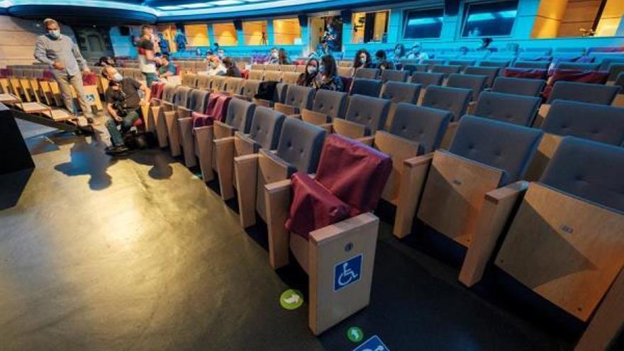 Reapertura de un teatro en Las Palmas de Gran Canaria. (EFE)