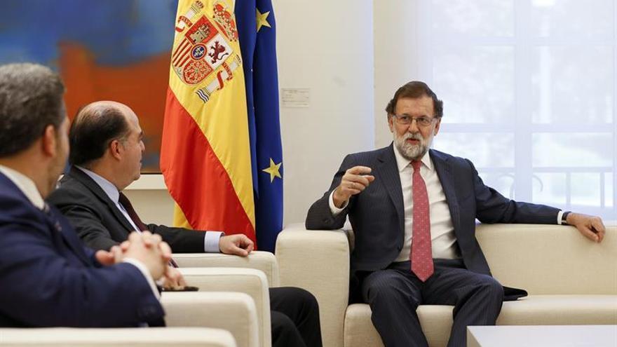 Rajoy promoverá medidas contra responsables de la represión en Venezuela