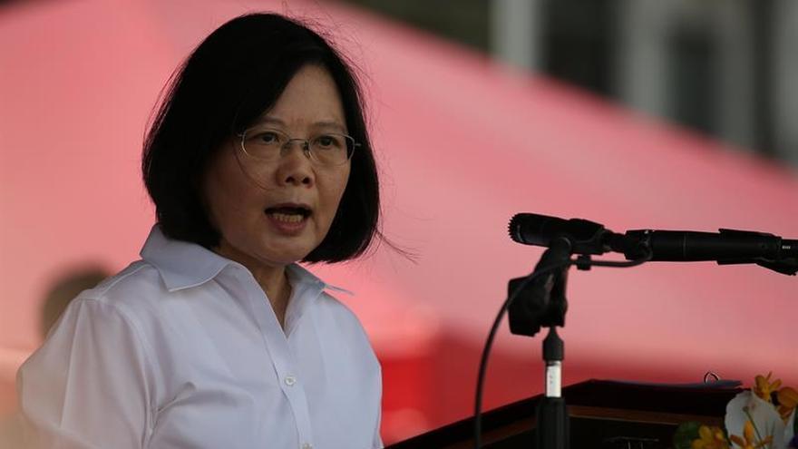 La presidenta taiwanesa parte para África mientras China prepara maniobras