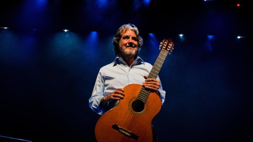 El guitarrista Riqueni /Foto: M. Naranjo