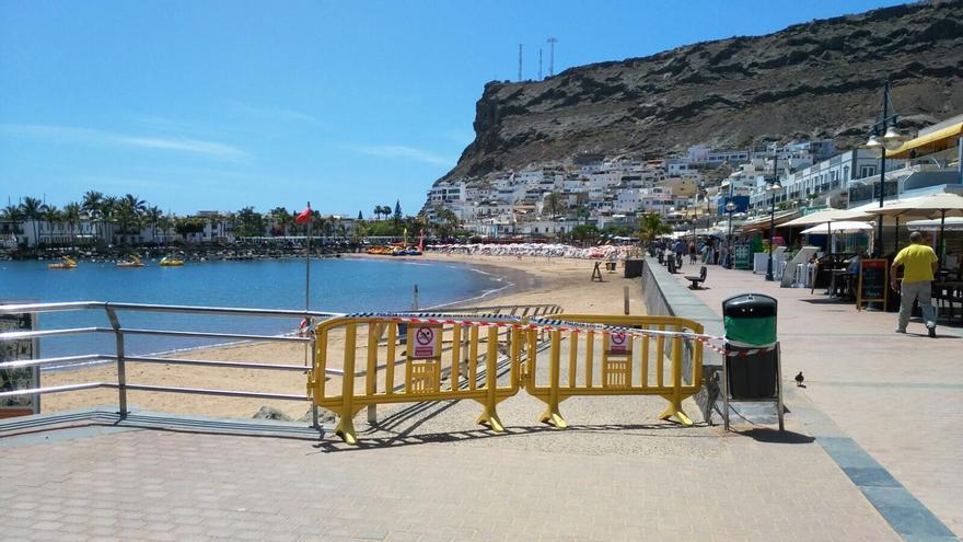 Playa en el municipio de Mogán.