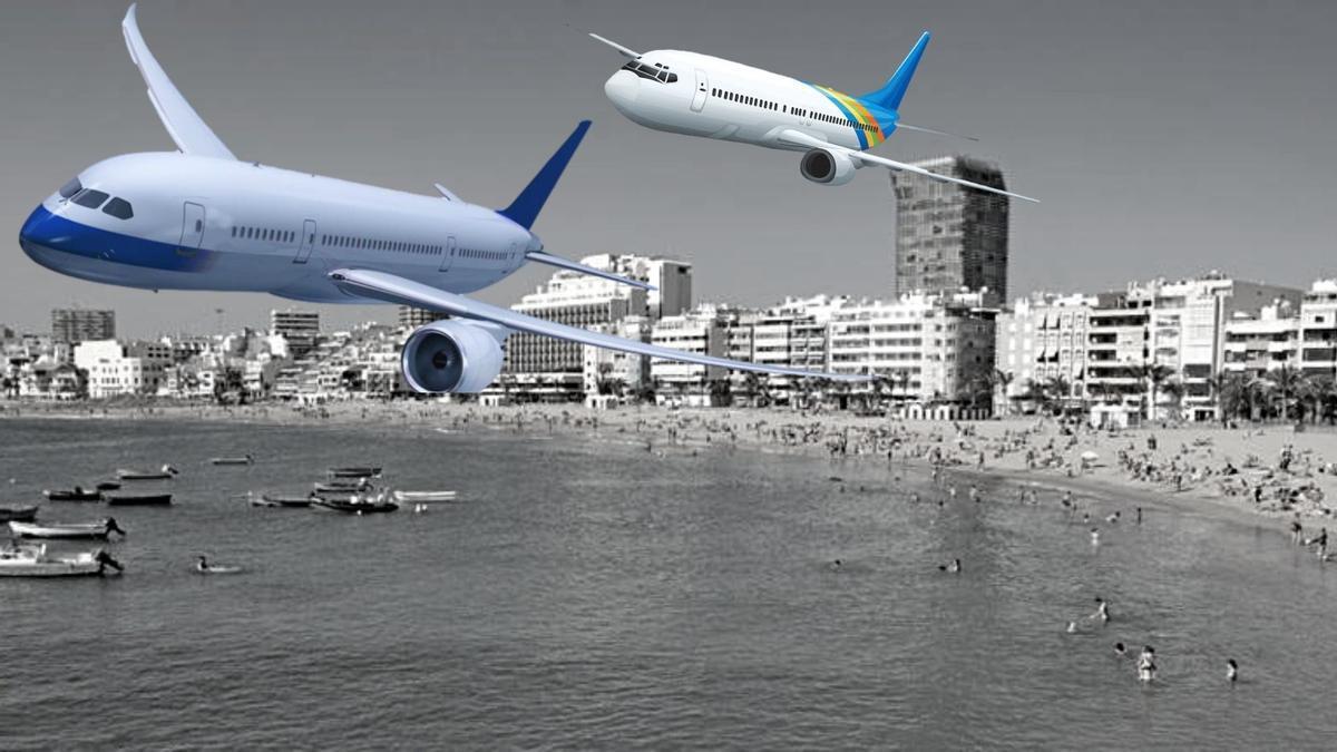 Los aviones y la conectividad, un reto para el turismo canario