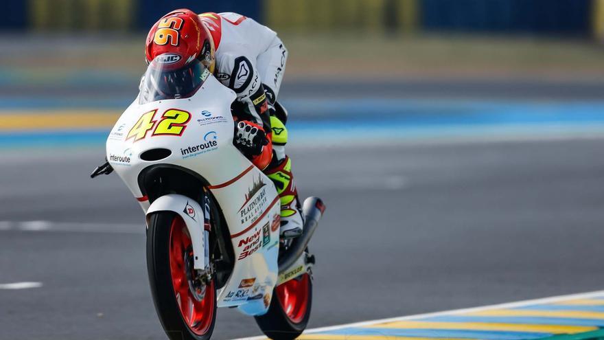 Marcos Ramírez, séptimo clasificado provisional del Mundial de pilotos de Moto3