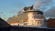 Arriba al Puerto de la capital el  'Independence of the Seas' con casi 6.000 personas