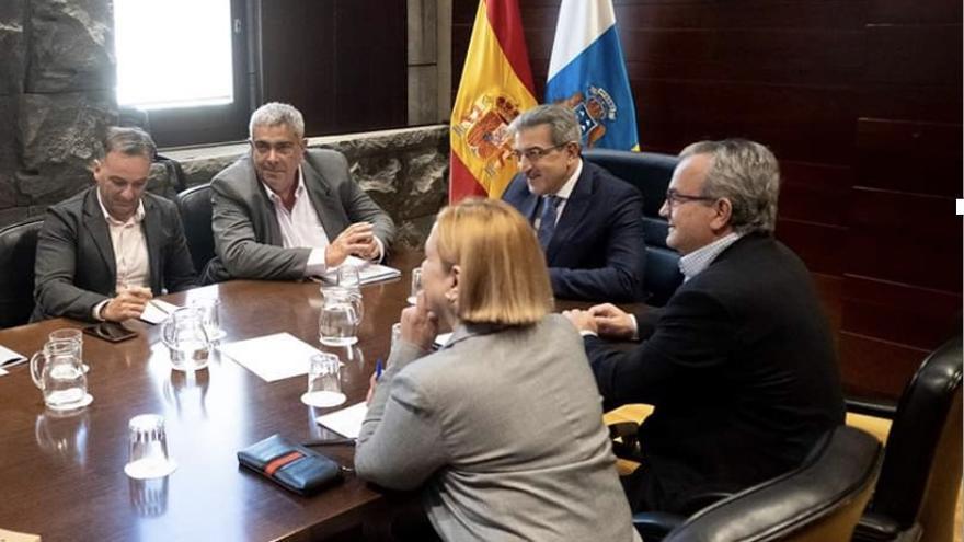 Reunión en la Vicepresidencia del Gobierno.