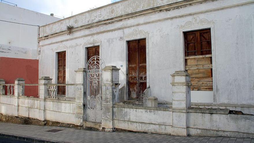 La casa del escritor Agustín Espinosa.