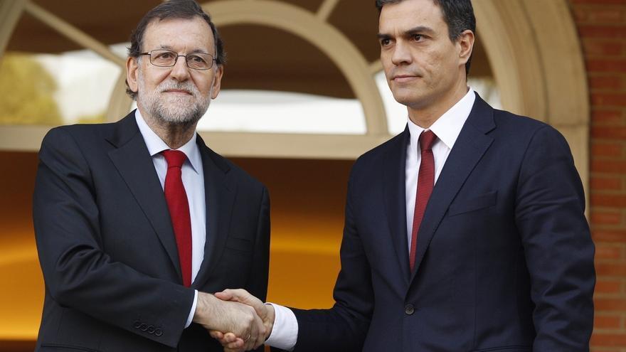 Rajoy no hizo ninguna oferta a Sánchez tras su 'no' rotundo a apoyar la investidura de un Gobierno del PP