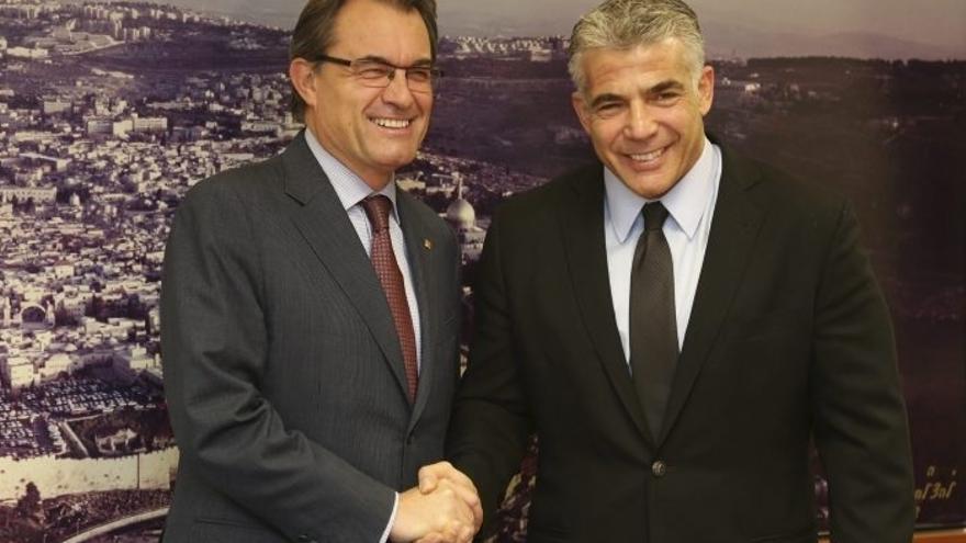 """Mas define a Israel como un """"país estratégico"""" para Cataluña"""