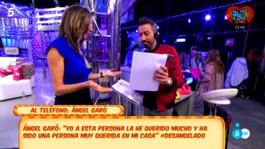 'Sálvame' advierte a Ángel Garó con unas fotos comprometedoras