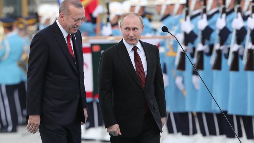 La ONU pide a Putin y a Erdogan que eviten una tragedia en Idleb