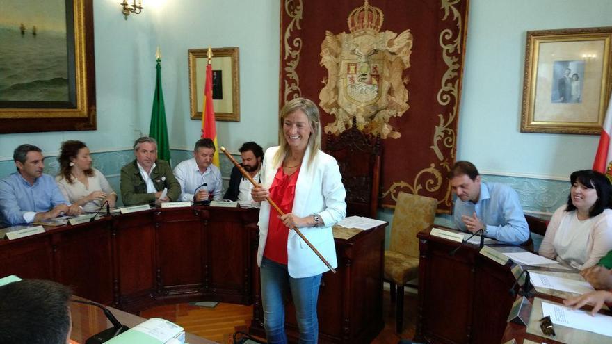 Susana Herrán (PSOE) se ha convertido en la alcaldesa de Castro Urdiales. | R.A.