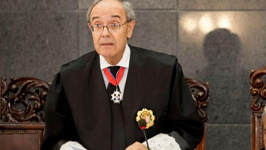 Vicente Garrido, fiscal general de Canarias./EFE