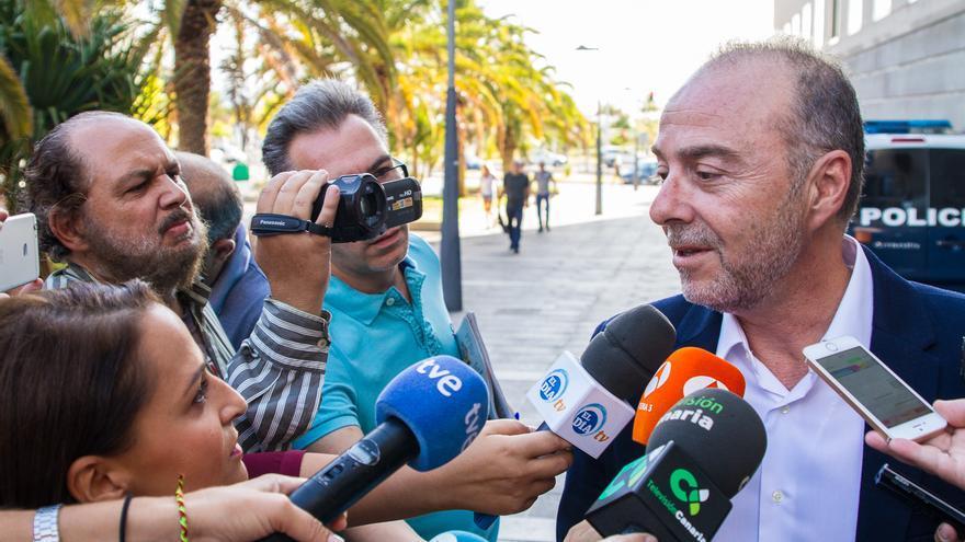 Miguel Zerolo en el juicio de Las Teresitas (Aarón S. Ramos)