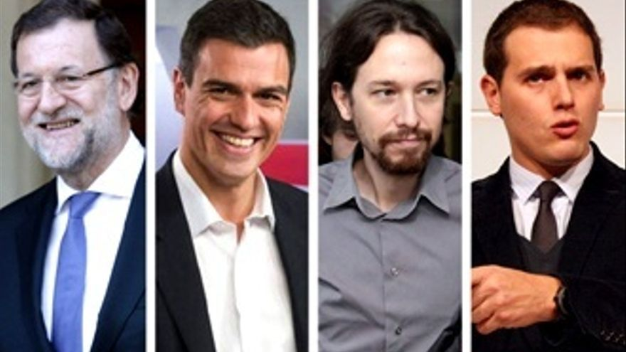 Calendario televisivo del 20-D: guía para no perderse (o sí) a los políticos