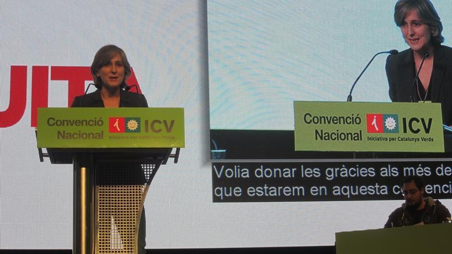 Camats reivindica la vigencia de ICV y avisa de que no hay proceso constituyente sin ellos