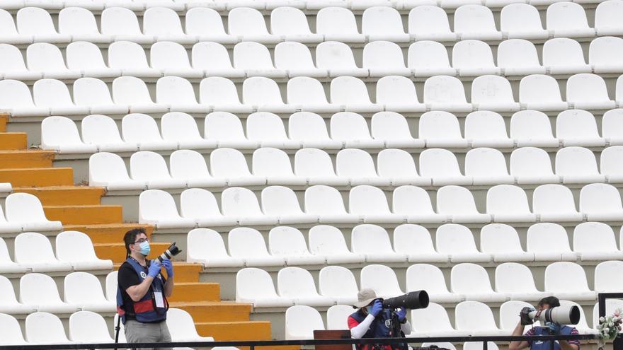 """Los periodistas denuncian que La Liga """"dificulta"""" el trabajo de los gráficos"""