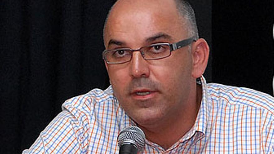 Pablo Álvarez, presidente de la UD Vecindario.