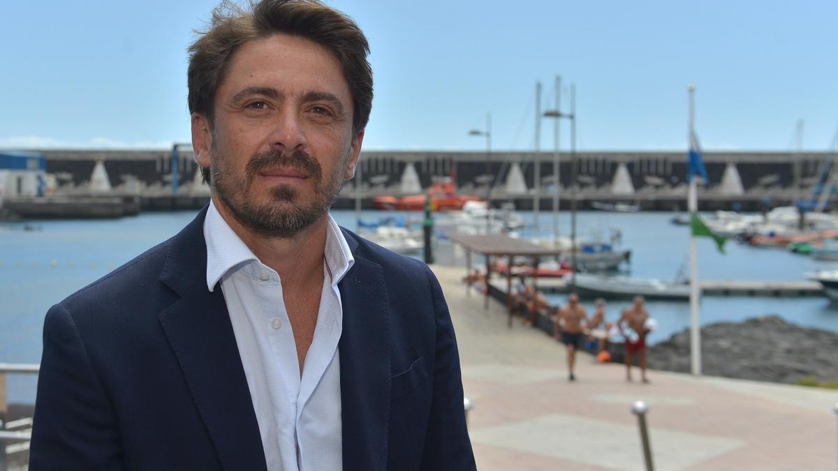 El presidente de la Asociación Hotelera y Extrahotelera de Tenerife, La Palma, La Gomera y El Hierro, Ashotel, Jorge Marichal. EFE/Gelmert Finol/Archivo