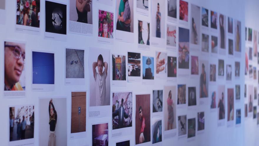 En la imagen, la exposición.