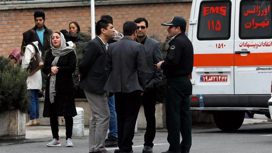 Hallan los restos del avión iraní desaparecido el domingo