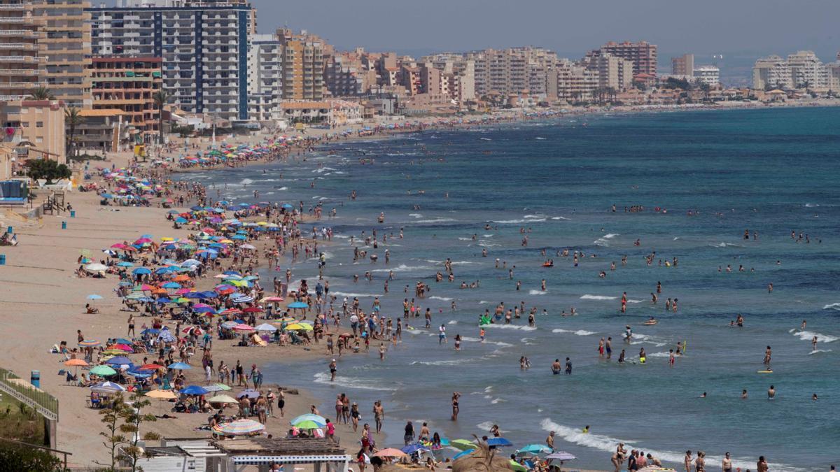 Playa del Mar Menor. EFE/Marcial Guillén/Archivo