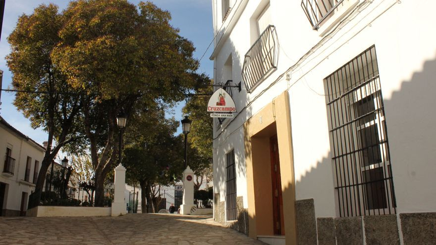 Fonda de Ana Mari, situada en Villaluenga.