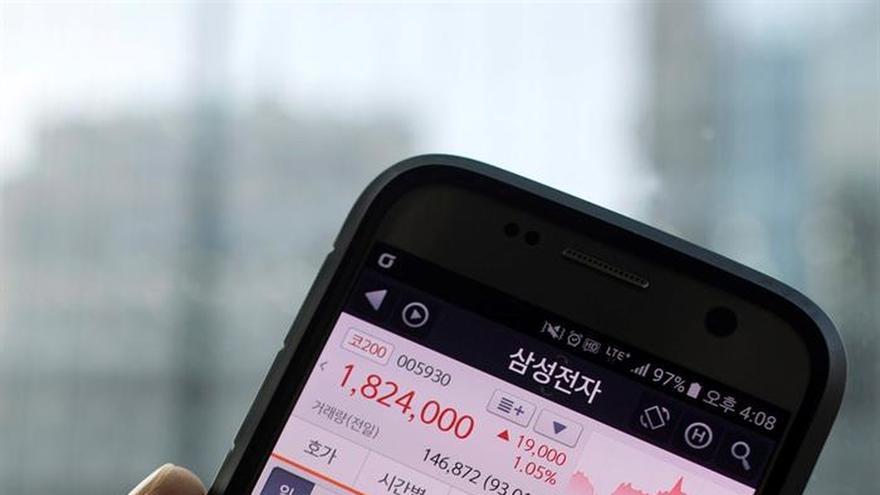 La Bolsa de Seúl abre con un retroceso del 0,26 % hasta los 2.076,45 puntos