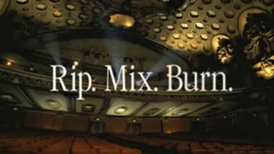 El primer lema de iTunes: roba, mezcla y quema