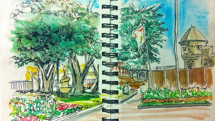 SketchCrawl en La Isleta