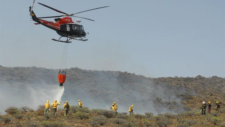 Alerta de incendios forestales en las Islas.