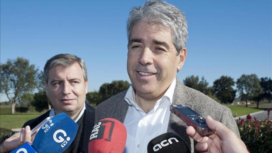 """Homs recalca que JxSí se mueve y urge a la CUP un acuerdo de """"supervivencia"""""""