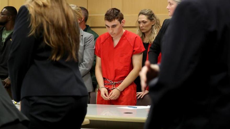 Florida pedirá la pena de muerte para el autor confeso de la matanza de Parkland