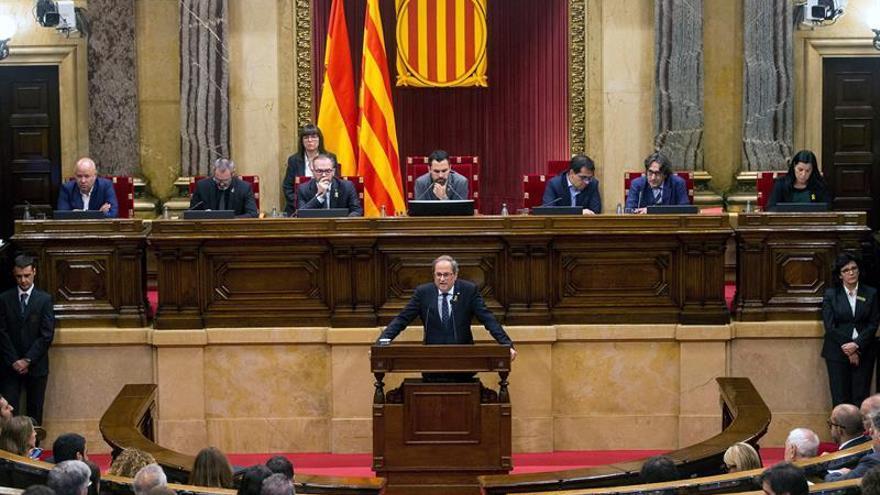 Torra da a Sánchez un mes para presentar una propuesta sobre la autodeterminación