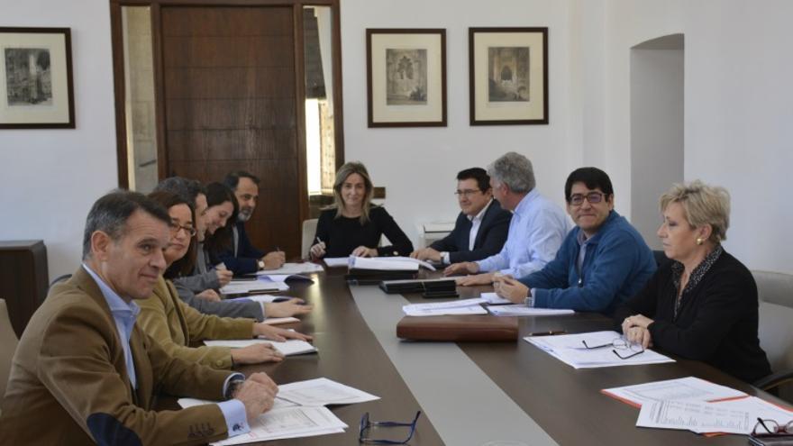 Última reunión de la EMV en la que López Gamarra participó como observador