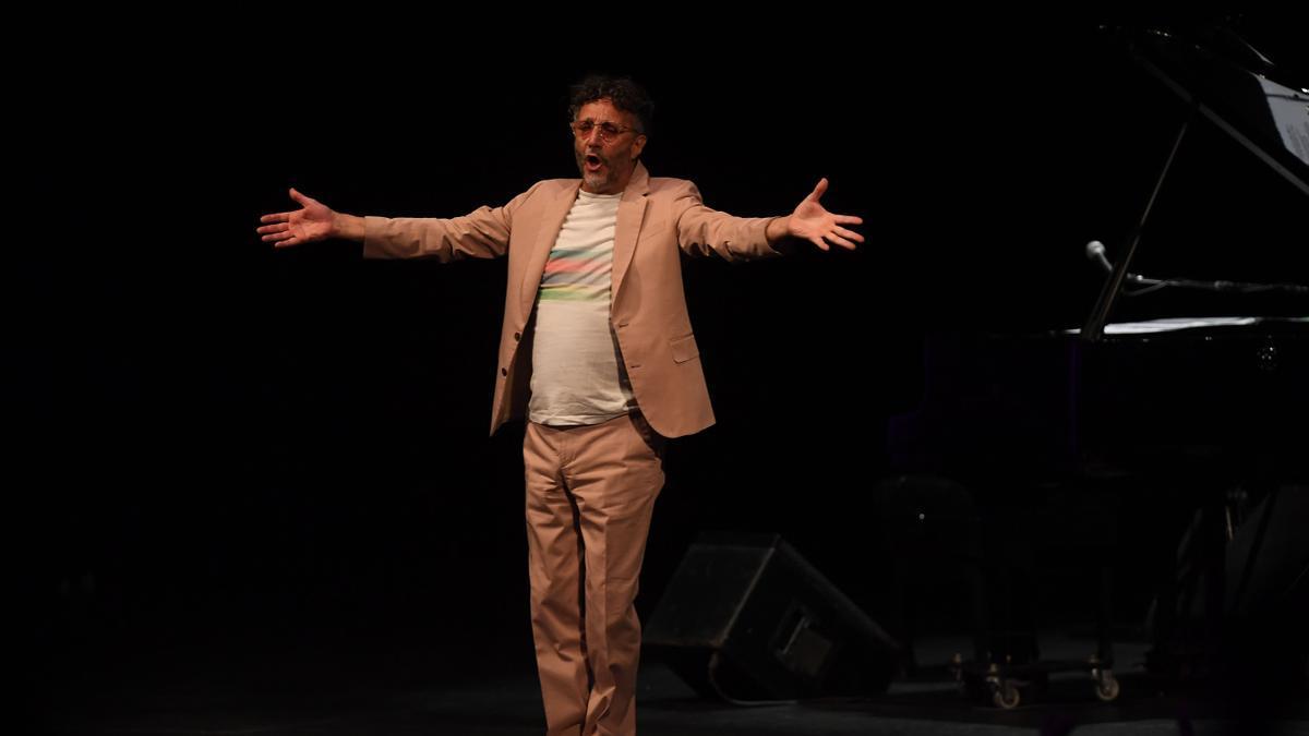 Fito Páez, a pura grabación: tres discos en dos meses.