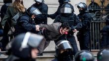 La Justicia absuelve a los CDR acusados de encadenarse en el TSJ catalán al ampararles bajo la libertad de reunión