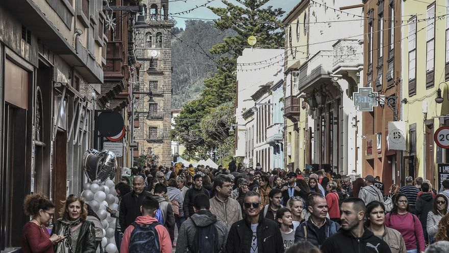 Miles de personas disfrutan de más de 150 actividades en La Laguna.