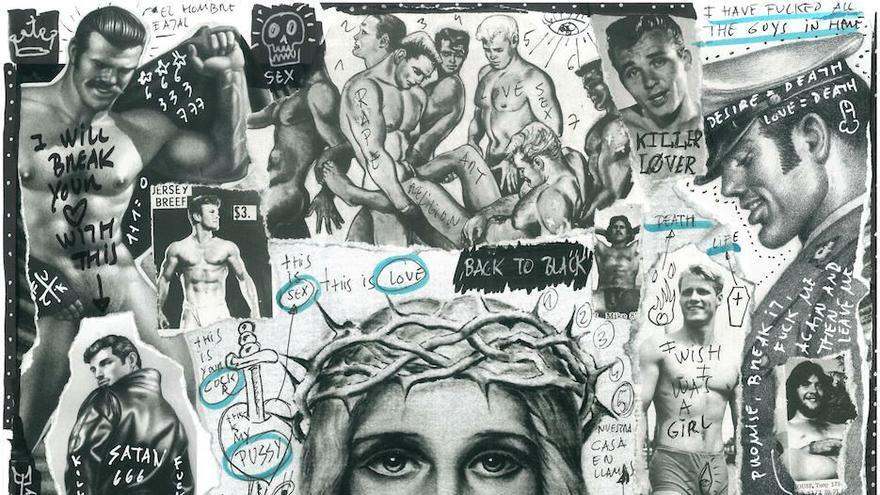 Imagen de la obra de la polifacética ilustradora afincada en Madrid