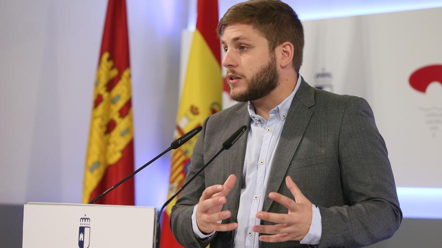 Nacho Hernando, portavoz de la Junta de Comunidades