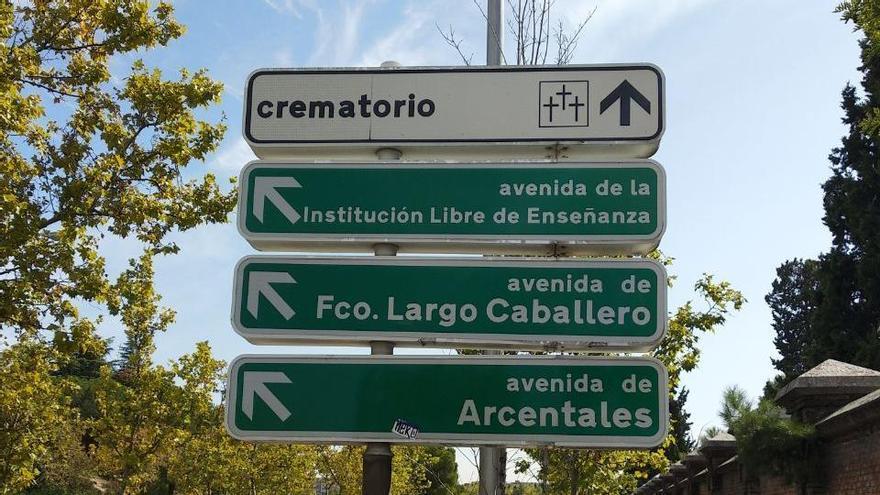 Avenida de Largo Caballero, en Ciudad Lineal, calle afectada por la iniciativa de Vox